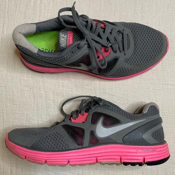 Bienes Contestar el teléfono Enviar  Nike Shoes | Lunarglide 3 Running Sneaker Pink Gray 95 | Poshmark